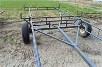 Trailer, Irrigation Pipe single axle,