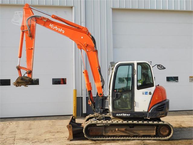 2010 KUBOTA KX080-3 For Sale In Des Moines, Iowa