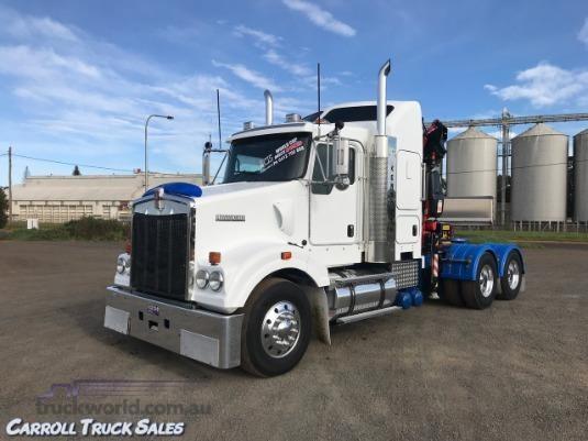 Crane Truck For Sale >> 2011 Kenworth T409 Sar Crane Truck Prime Mover 6x4 Truckworld