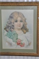 Hand-Tinted Baby Picture
