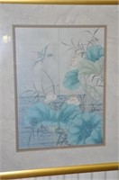 Asian Water Scene Print