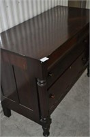 Mahogany Empire Style Chest of Drawers