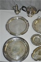 Metal Serving Dishes
