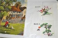 Silkworks and Wall Hanging