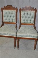 19th Century Side Chair Pair