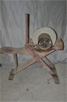 Early Patented Grinding Wheel