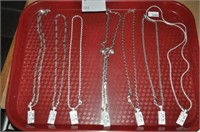 Sterling Silver Italian Necklaces