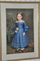 Little Girl Print
