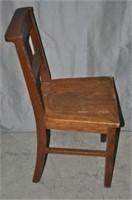 Oak Office Chair
