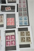 World War II Unused Stamp Collection