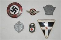 German World War II Pins