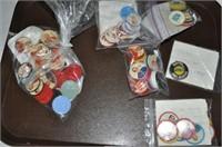 Salada Foods Hockey and Baseball Coins