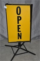 Open Store Sidewalk Sign