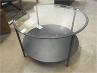 Ikea Round Table w/Glass Top