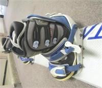 Santa Cruz Snowboard, Bindings, and Boots.