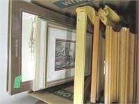 Framed Artwork Lot