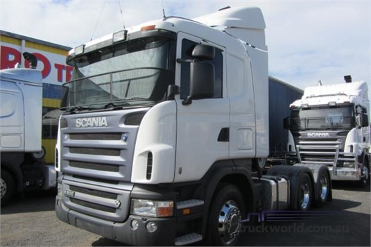 2007 Scania R580 Trucks for Sale