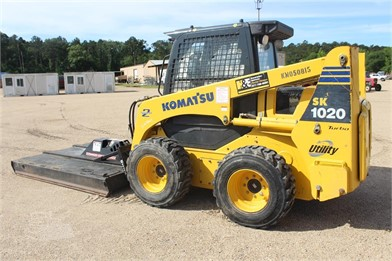 KOMATSU SK1020 ROPS - ROTARY CUTTER - GP BUCKET - Other ... on