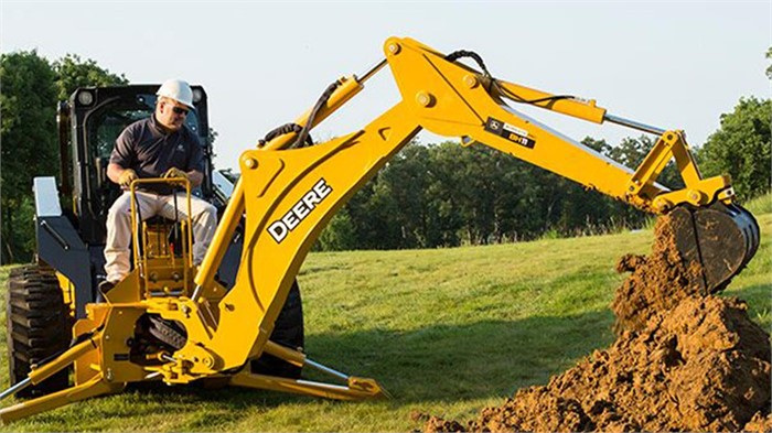 John Deere Debuts Three New Backhoe Attachments Machinery Trader Blog