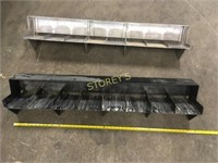 2 HD Steel Racks - 4'