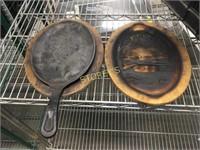 Cast Iron Sizzle Plates