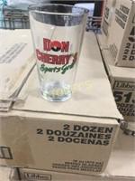 24 Don Cherry Glasses