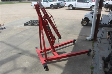 2 Ton Red Engine Hoist Other Auktionsergebnisse - 1 ... Harbor Freight Hoist Wiring Schematic on