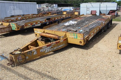 EAGER BEAVER 12HA-PT 25' FLATBED TRAILER W/ DOVETA Other