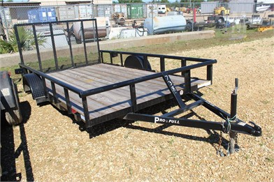 PRO PULL 12' UTILITY TRAILER - REAR GATE - NO AXL Other