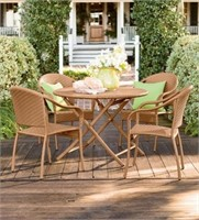 Plow & Hearth Outdoor Dining Set