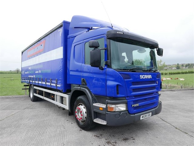 Used 2008 SCANIA P230 For Sale in Moy, United Kingdom (ID