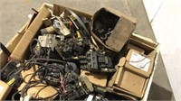 Assorted Breakers and Breaker Parts-