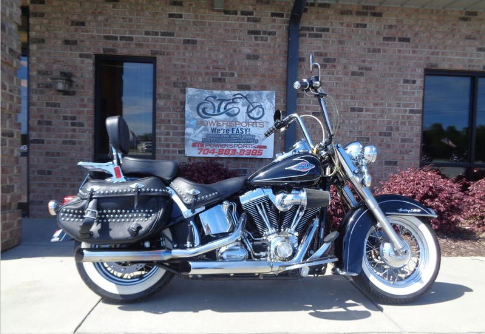2010 HARLEY DAVIDSON HERITAGE SOFTAIL CLASSIC For Sale in Statesville,  North Carolina