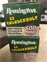 2019 Spring Firearm, Ammunition, and Hunting Auction