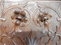 """Monumental Renaissance Revival Bench 111""""H"""
