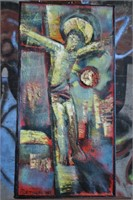 Russian Artist Abstract Jesus