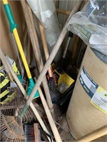 Contents of Storage Shed and Patio