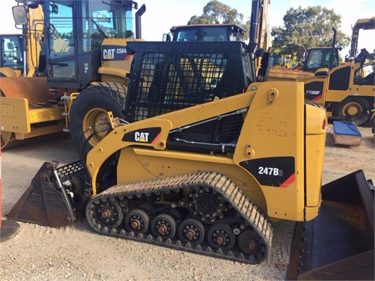 2015 Caterpillar 247B3 Heavy Machinery for Sale