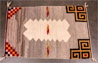 Native American Double Saddle Blanket