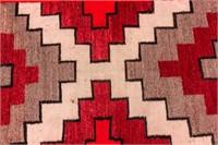 Ganado Styled Navajo Rug