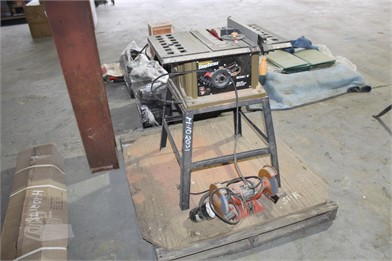df7afc10d9 10'' ROCKWELL TABLE SAW W/ GRINDER Other Auction Results - 1 ...