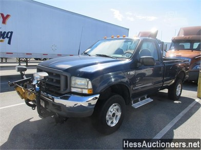 2002 FORD F350 XL SUPER DUTY PLOW TRUCK Other Auction Results - 1