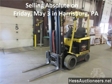 HYSTER E45Z ELECTRIC PALLET JACK Other Auction Results - 1 ... on