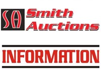 ONLINE AUCTION INFORMATION