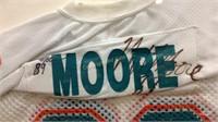 new styles d34de b2b2b Signed Miami Dolphins Nat Moore Jersey | Bid Kato
