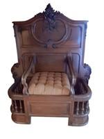 Rare Antique French Rococo Entry Bench
