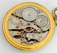 Waltham 21J Crescent St with winding indicator