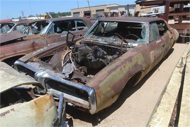 Pontiac 4 Door Hardtop Salvage - Year Not Guarante Other