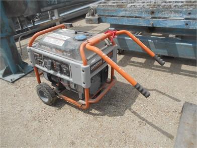 Generac Xg8000e Gas Motor - 8000 Watts - Wheel Mou Other Auction