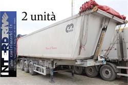 Menci Semirimorchi Vasche Ribaltabili 42 M Cubi Usate  Usato